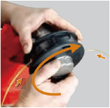 Easy Load Tap-N-Go Trimmer Head WB-1237 P2