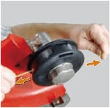 Easy Load Tap-N-Go Trimmer Head WB-1237 P3