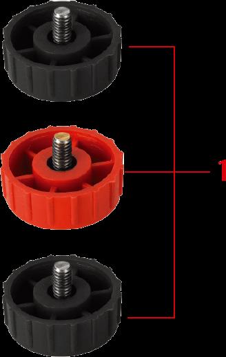 Tap-N-Go Mini Trimmer Head WB-1222 Knob
