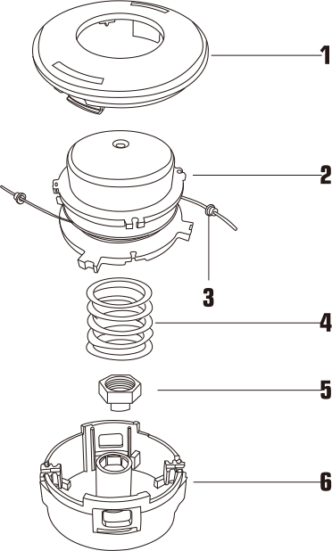 Tap-N-Go Trimmer Head WB-2209 Drawing